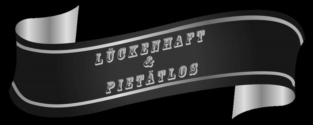 WordPress Banner Lückenhaft & Pietätlos