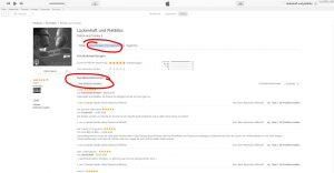 Lückenhaft und Pietätlos in iTunes bewerten