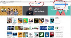 Podcast bewerten iTunes